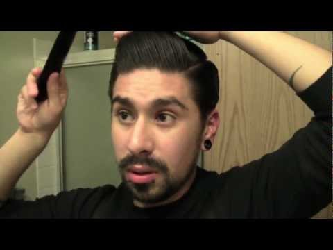 POMPADOUR FOR THICK HAIR