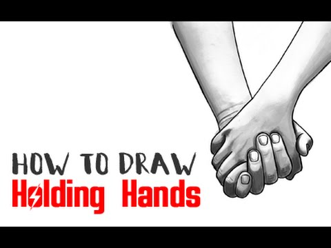 How to Draw Holding Hands (Intermediate Tutorial)