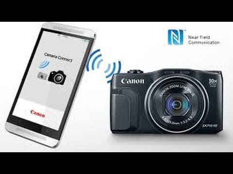 Connect Canon WiFi Camera to Smartphone app