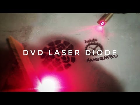 ZepLabs : Laser Diode From A DVD Drive