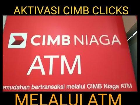 AKTIVASI CIMB CLICKS, untuk nasabah bank cimb