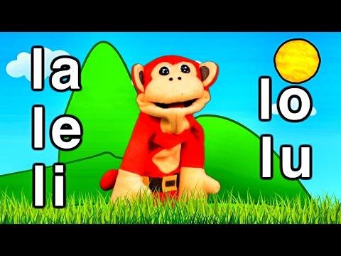 Xxx Mp4 Sílabas La Le Li Lo Lu El Mono Sílabo Videos Infantiles Educación Para Niños 3gp Sex