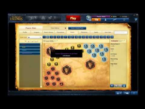 Yasuo Jungle Runes/Masteries S4