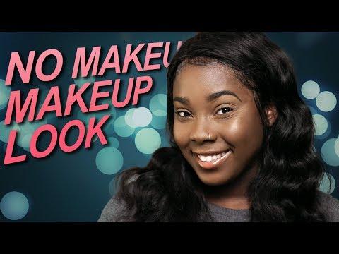 No Makeup Makeup Look for Dark Skin (Light Makeup Tutorial)