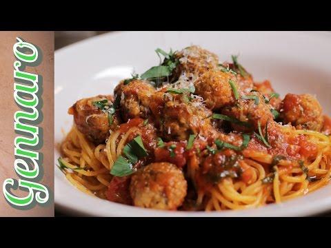 Perfect Chicken Meatballs | Gennaro Contaldo