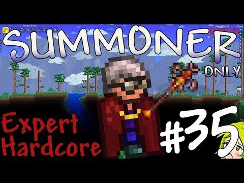 Terraria Expert Hardcore Summoner Only #35