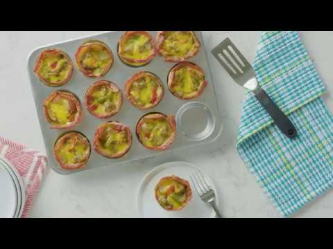 Bacon and Sausage Muffin Cups Recipe