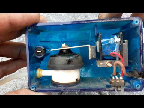How to Repair aquarium air pump - at home