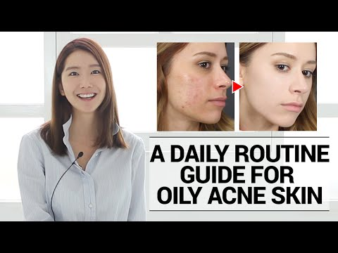 How to take care of Oily Acne Prone Skin, A Daily Routine Guide | Wishtrend