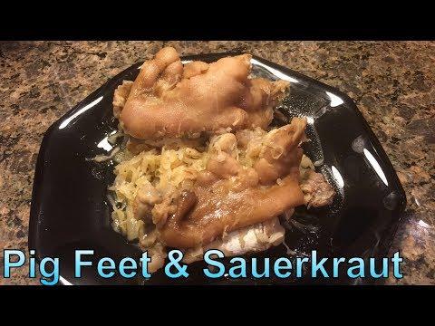 How to Make: Pig Feet & Sauerkraut