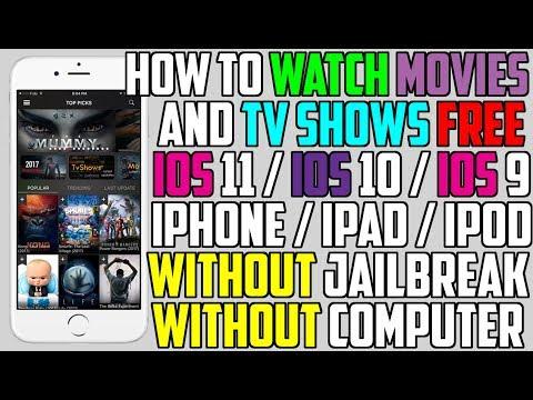 Better Than MovieBox? Watch Movies/TV Shows FREE iOS 11 / 10 - 10.3.3 (No Jailbreak NO Computer)