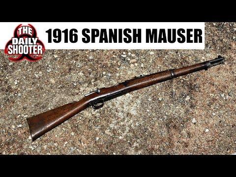 1916 Spanish Mauser Fabrica De Armas Oviedo 7mm