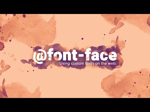 Easily Use Any Font On Any Website - @font-face Tutorial
