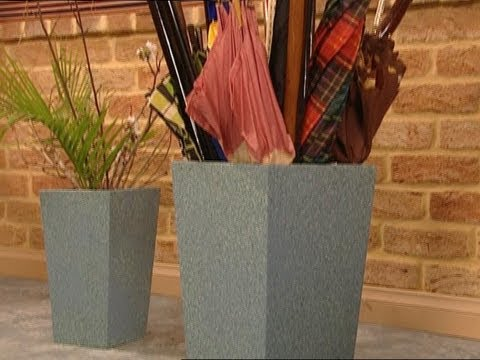 How to Make MDF Umbrella Stand/Planter Box