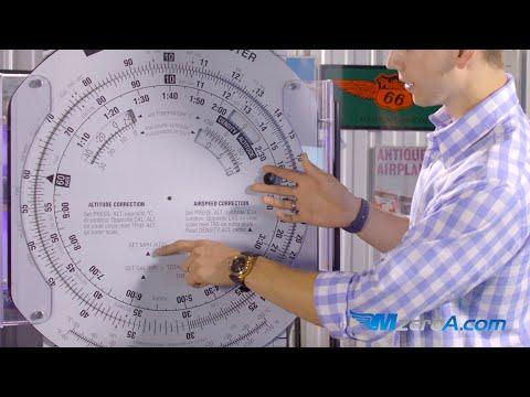 E6B Flight Computer. Time, Speed, & Distance - MzeroA Flight Training