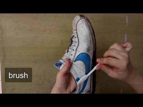 how to clean your shoes outside and inside