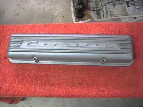 Aluminum valve cover restoration