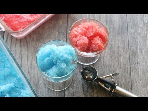 Homemade Jello Shave Ice