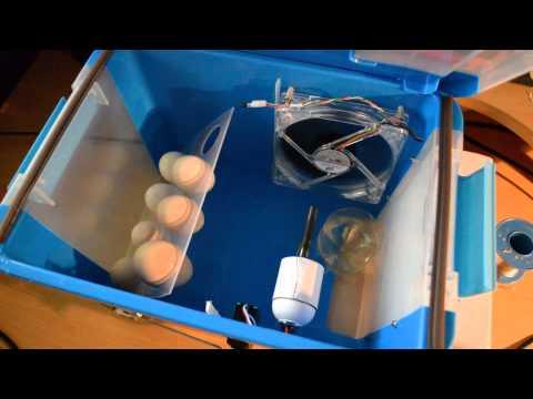 Homemade egg incubator