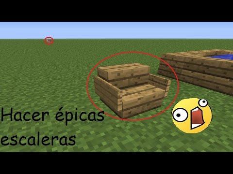 ¿Cómo subir una escalera correctamente en Minecraft? - VideoTutorial