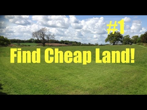 People Finding Cheap Land and what they do with it