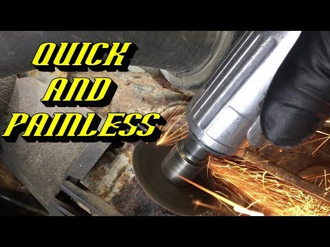 Ford Quick Tips #83: How to Quickly Remove Rusty Stuck Power Steering Lines