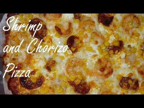 Chorizo Pizza with Shrimp - Pizza Recipe