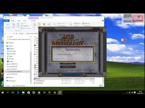 Age of Mytology Windows 10 instal instructions + download link, crack, serial key Old PC game
