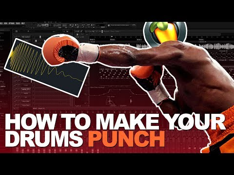 How To Make Your Drums PUNCH HARD! | FL Studio Tutorial