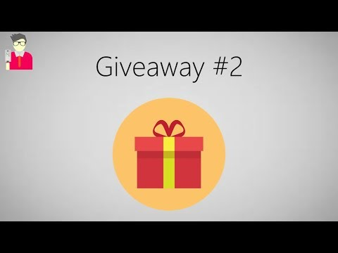 Giveaway #2 [ CLOSED ]
