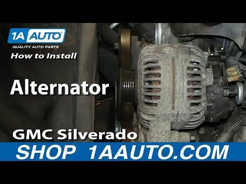 How To Install Replace Alternator 5.3L Chevy GMC Silverado Sierra Suburban Yukon