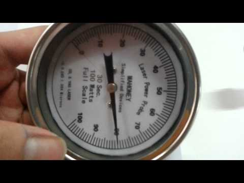 100 Watt CO2 Laser Power Meter Probe for CO2 Laser Power Measurement on Laser Engraving Machines