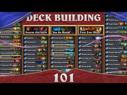 Hearthstone Deck Building 101: Early Game Aggro Druid!