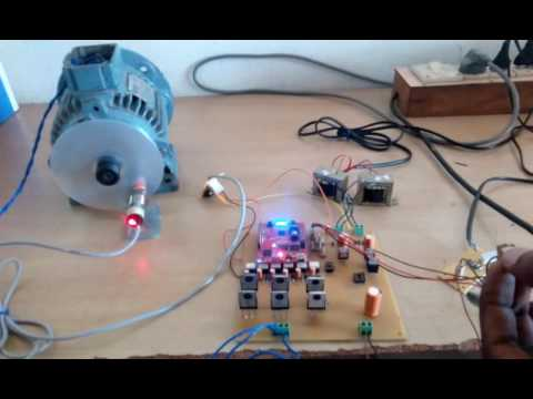 Three phase Induction Motor Speed controller using TMS320F28027