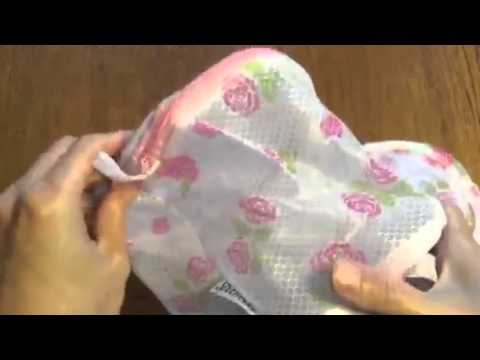 Spaworks Bra Wash Laundry Bag Review, Tangle free laundry
