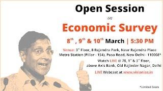 Open Session on Economic Survey 2016-17_Part-01