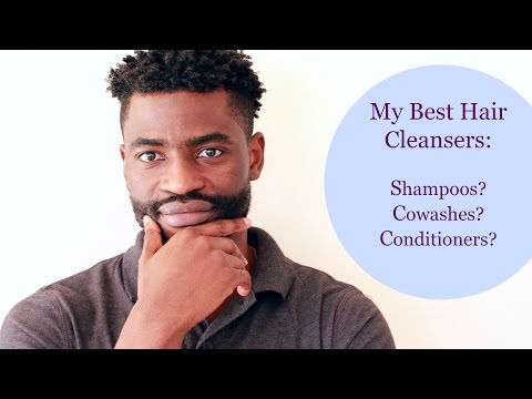 Best Hair Cleansers For  Men For Soft - Shiny - Curly - Healthy Hair