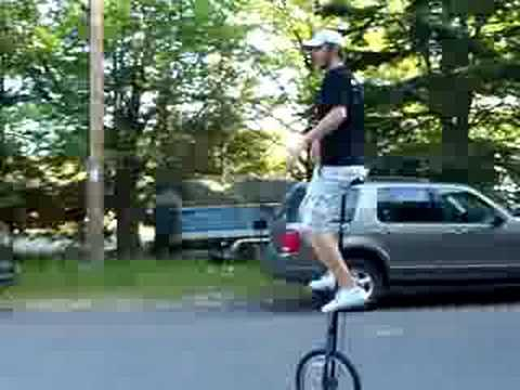 How Do You Get On a 5-foot Unicycle? - 100 Miles for 2 Big Smiles