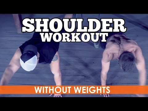 Shoulder Workout without Weights (Body Weight ONLY)
