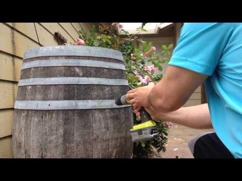 How to Make Wine Barrel Planters
