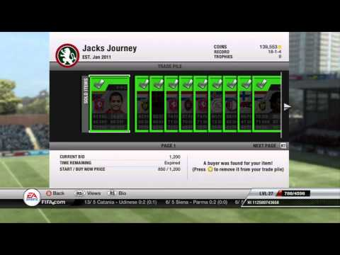 FIFA 12 Ultimate Team | Jack's Journey Ep. 11 | Trades and Final Bronze Squad