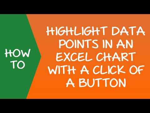 Dynamic Charting - Highlight Data Points in Excel with a Click of a Button