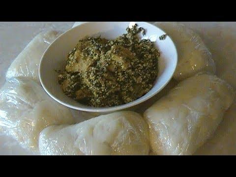 Okonghobong(Ugu) & Egusi Soup