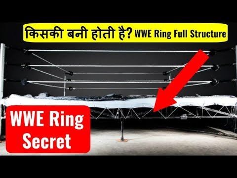 WWE Ring Secret | Ring Full Structure | Does Wrestling Ring Hurt? | WWE Ring Is made of ? In Hindi
