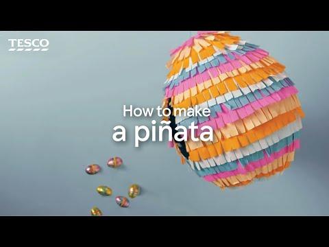 How to Make a Pinata | Tesco Living