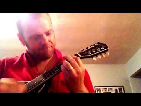 Hey Soul Sister on mandolin (my wrist hasn't hurt this much in a long while)...