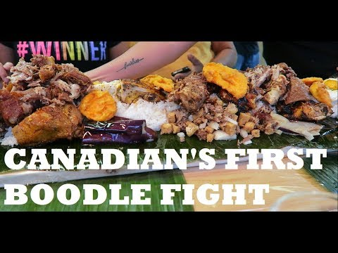 CANADIAN'S FIRST BOODLE FIGHT
