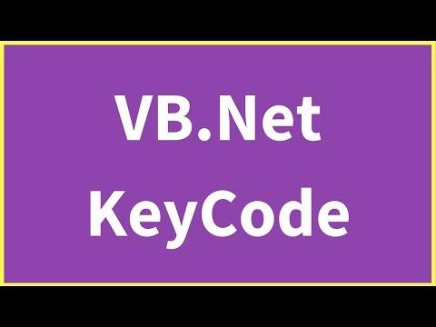 VB.Net KeyCode