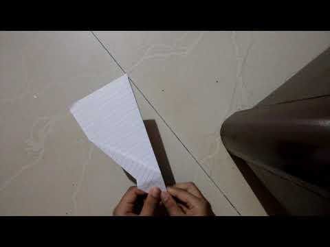 How to make the LF-2 paper glider by John Collins