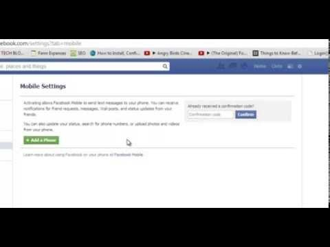 How To Remove a Facebook Phone Number
